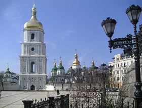 Kyjiv sofienkathedrale